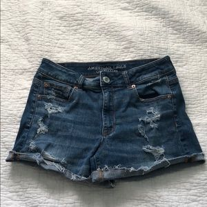 American Eagle High Rise Shortie Shorts!
